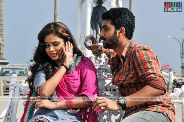 Kathirupor Pattiyal Movie Stills Starring Sachin Mani, Nandita Swetha