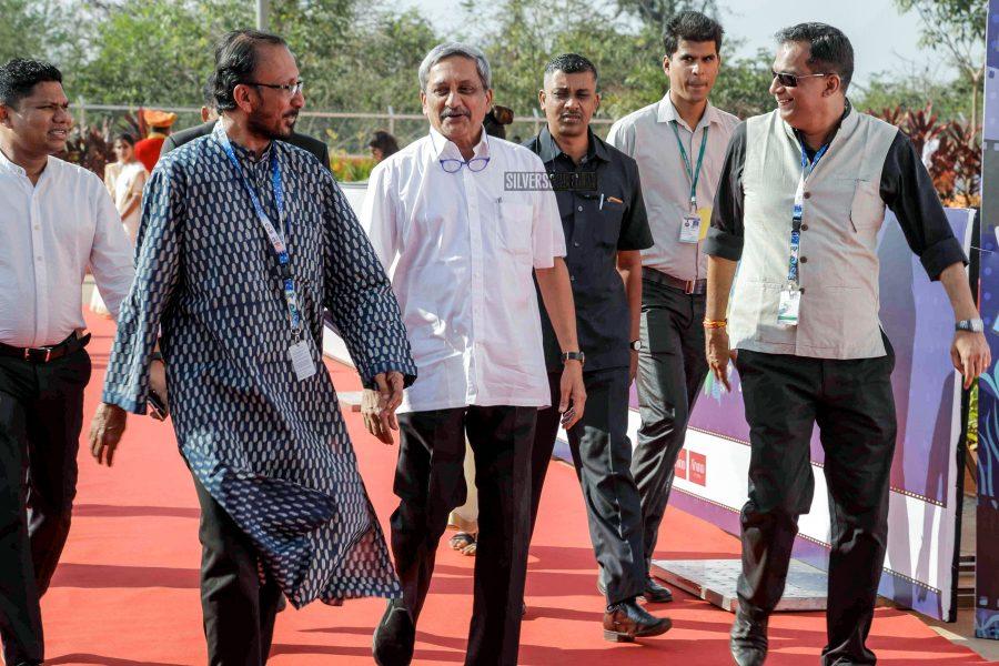 Manohar Parrikar at the closing ceremony of International Film Festival of India in Goa