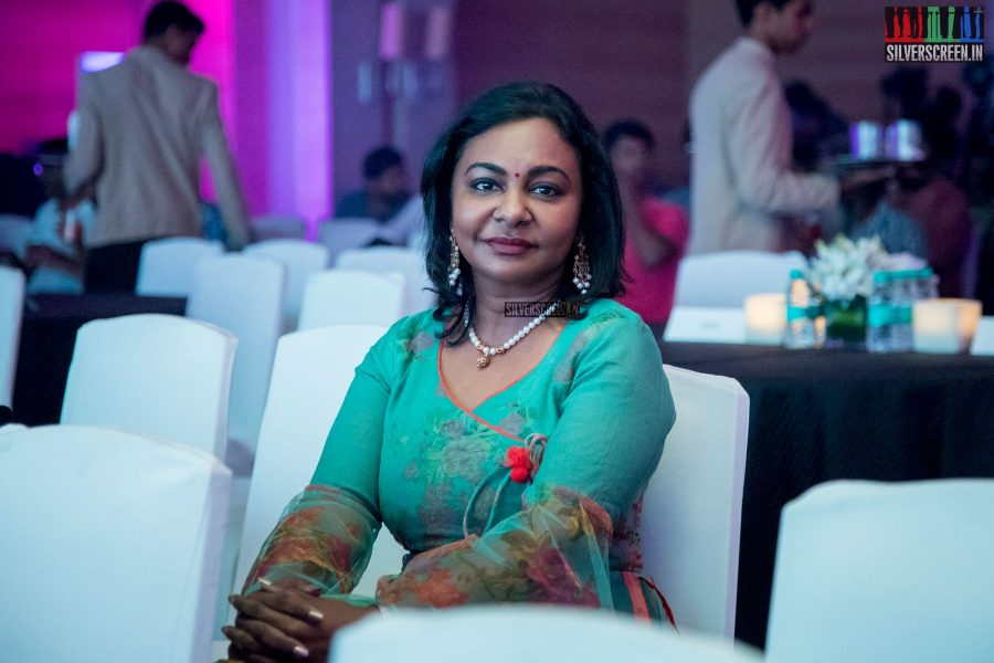 Hema Rukmani at Oru Kadhai Sollattumaa Audio Launch