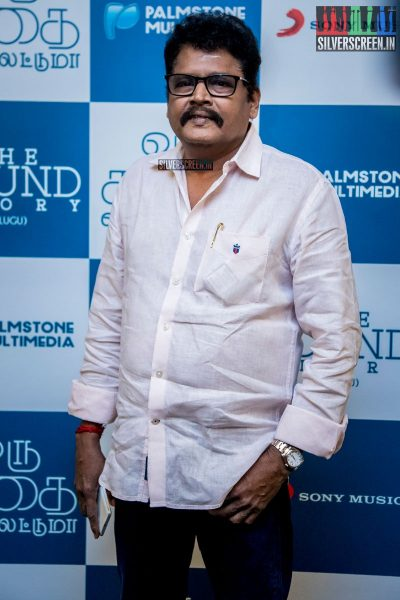KS Ravikumar at Oru Kadhai Sollattumaa Audio Launch