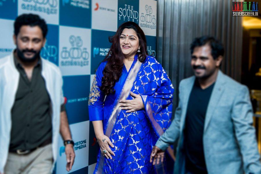 Kushboo at Oru Kadhai Sollattumaa Audio Launch