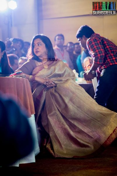 Radhika at Oru Kadhai Sollattumaa Audio Launch