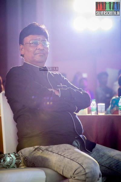 K Bhagyaraj at Oru Kadhai Sollattumaa Audio Launch