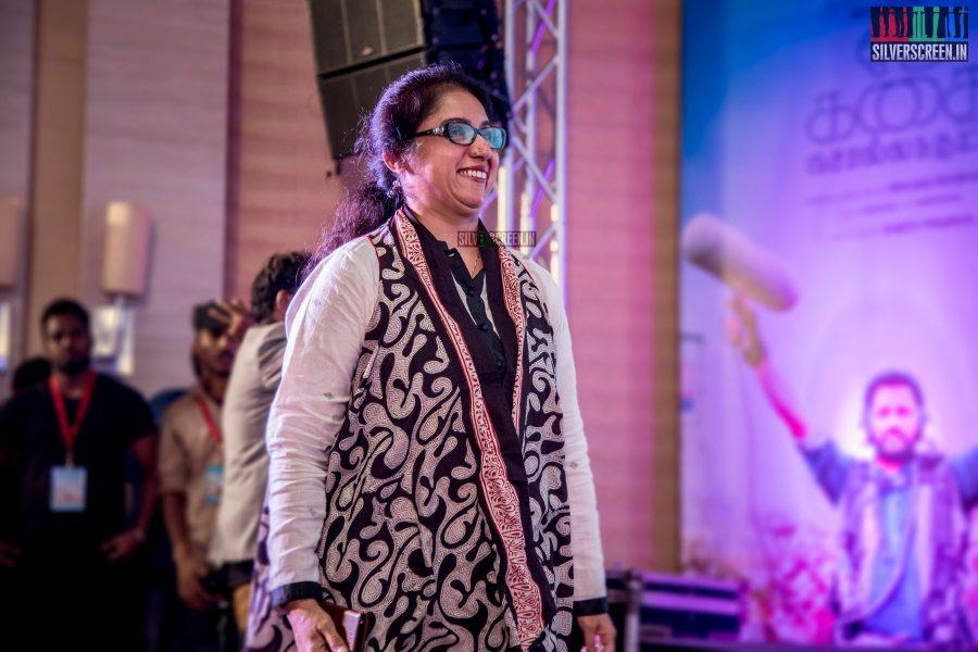 Revathi at Oru Kadhai Sollattumaa Audio Launch