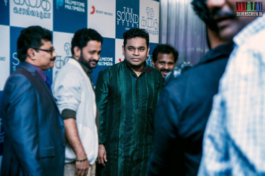AR Rahman at Oru Kadhai Sollattumaa Audio Launch