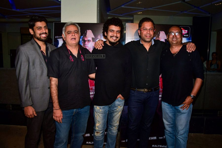 Screening Of Hansal Mehta's Web-Series Bose: Dead/Alive
