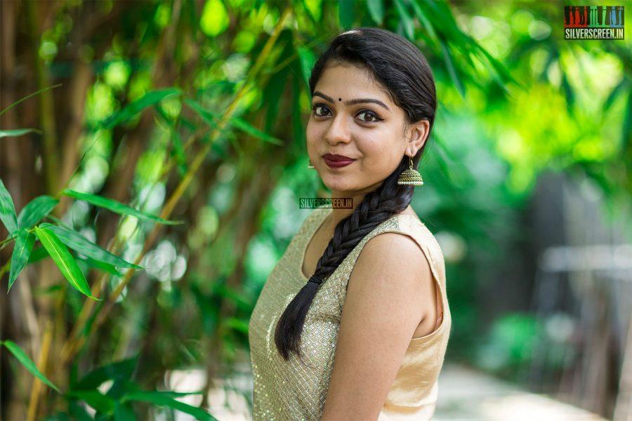 Varsha Bollamma at Seemathurai Audio Launch