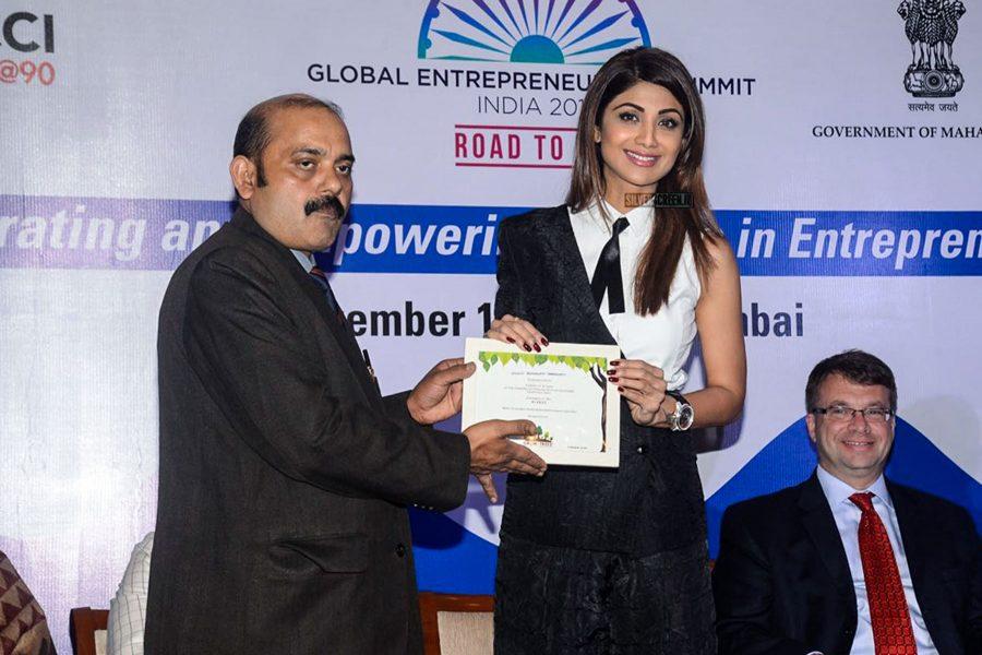 Shilpa Shetty At Ficci Event