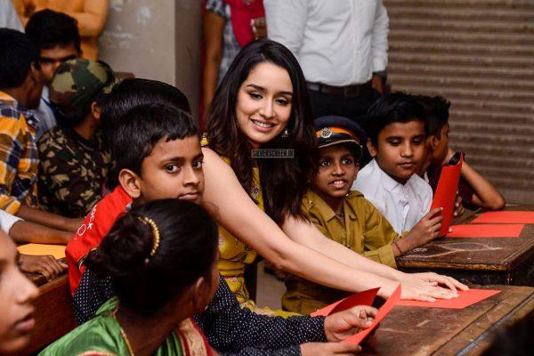 Shraddha Kapoor Celebrates Children's Day