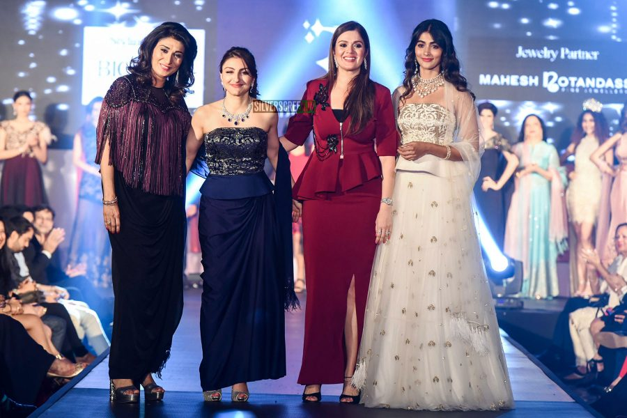 Pooja Hegde at The Fashion Show For Social Cause Called She Matters