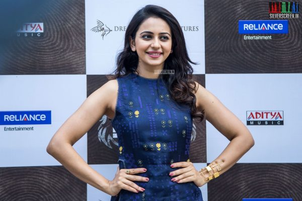 Rakul Preet Singh at Theeran Adhigaaram Ondru Press Meet