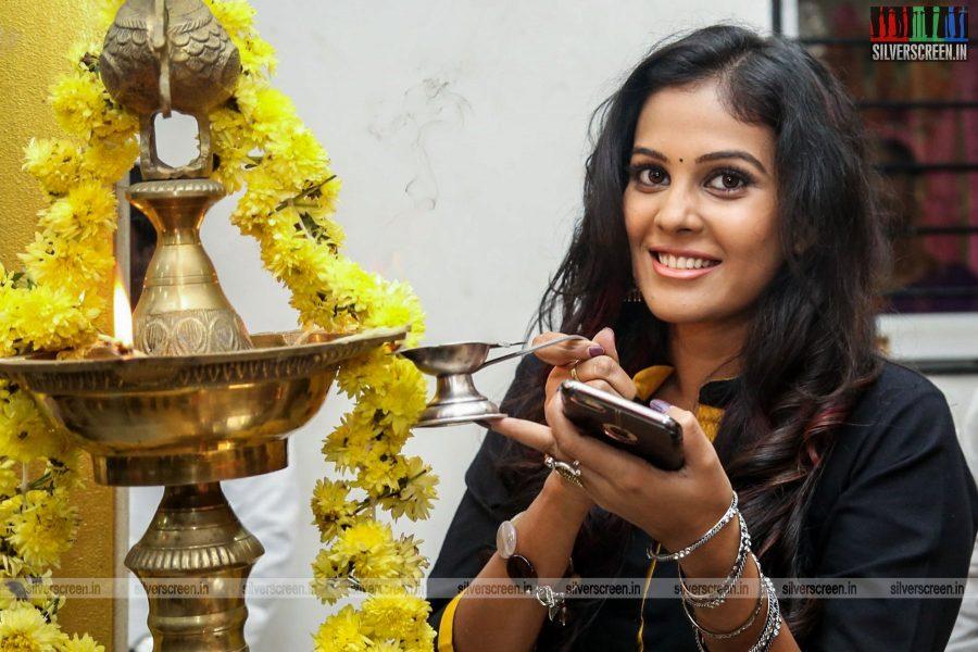 Chandini Tamilarasan at the Karichoru Movie Launch