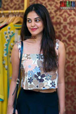 Bindu Madhavi At A Designer Store Launch In Chennai