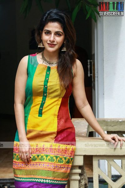 Shiva, Sathish, Iswarya Menon and Others At The Tamil Padam 2.O Movie Launch