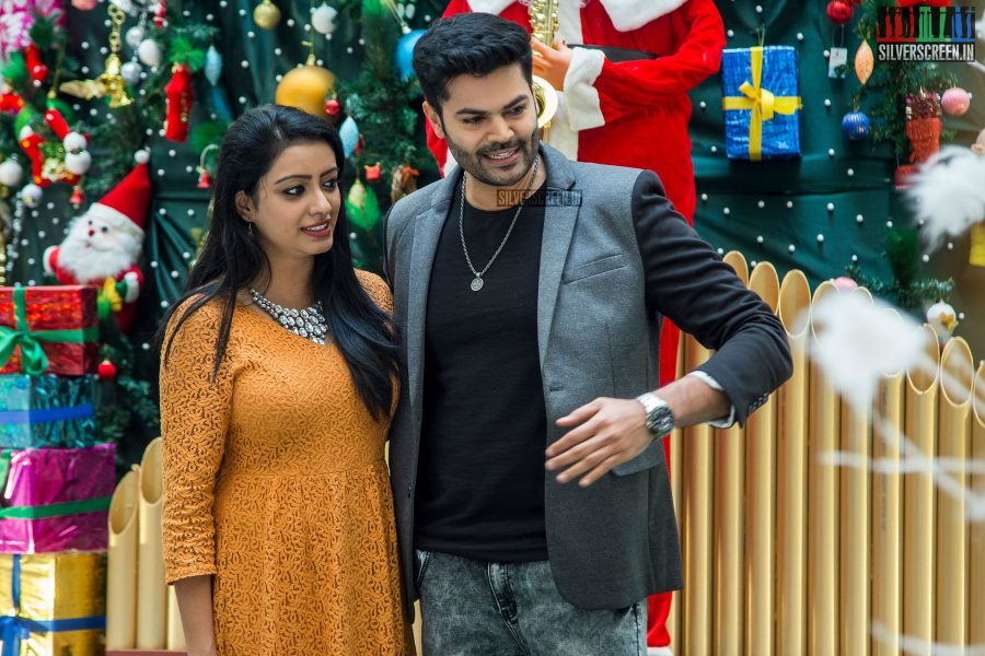 Actor Ganesh Venkatram At The Unveiling Of A 30-Feet Christmas Tree