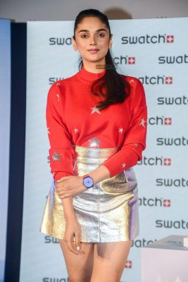 Aditi Rao Hydari At The Launch Of New Watch Collection