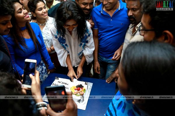 Amala Paul At Sathyam Cinemas In Chennai