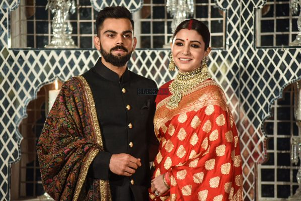 Anushka Sharma & Virat Kohli's Wedding Reception In Delhi