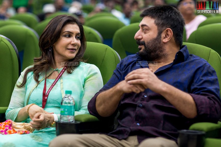 Aravind Swami and Lissy At The 15th Chennai International Film Festival Opening Ceremony