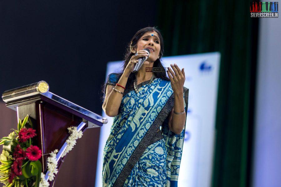 Anuradha Sriram At The 15th Chennai International Film Festival Opening Ceremony
