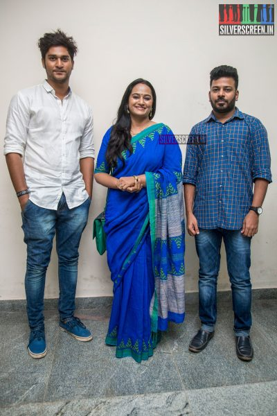 Anupama Kumar, Lokesh At The 15th Chennai International Film Festival Opening Ceremony