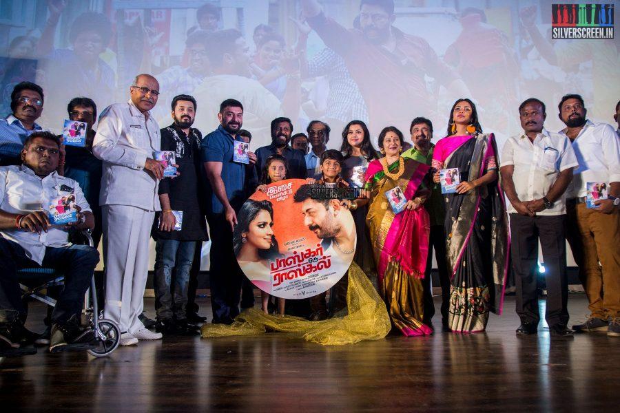 Bhaskar Oru Rascal Audio Launch Photos