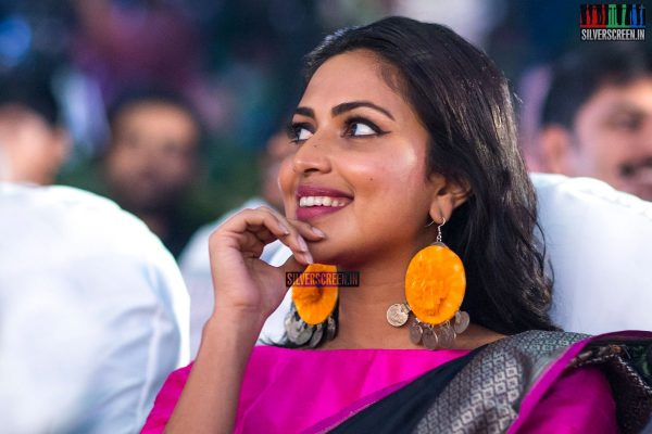 Amala Paul At The Bhaskar Oru Rascal Audio Launch