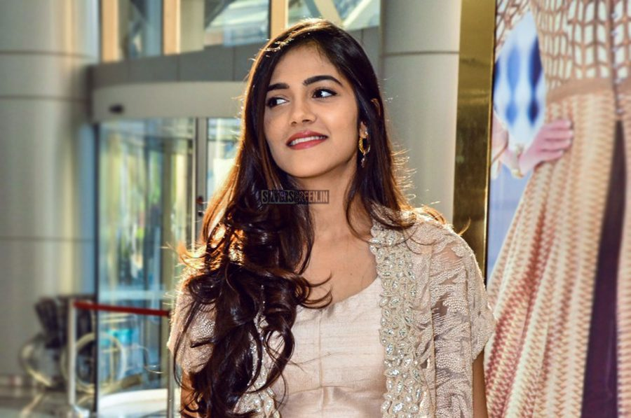 Simran Chowdary At The Hi Life Exhibition Curtain Raiser In Hyderabad