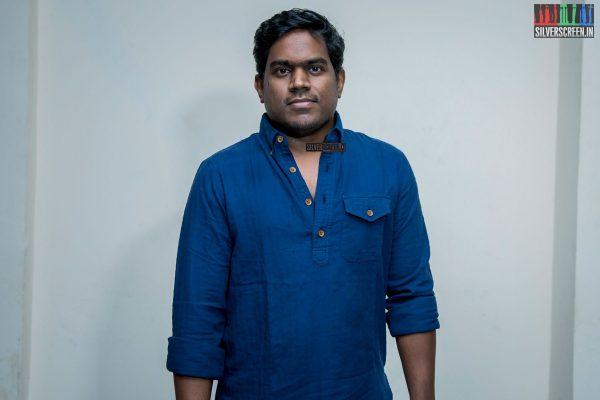Yuvan Shankar Raja at the Sakka Podu Podu Raja Audio Launch