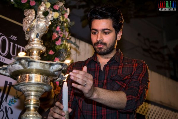 Harish Kalyan At The Launch of Craft Box & The Hide Out Bristo Cafe