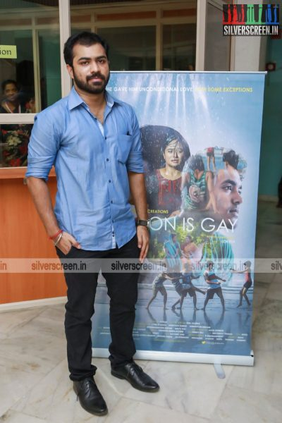 En Magan Magizhvan (My Son is Gay) Team At The 15th Chennai International Film Festival