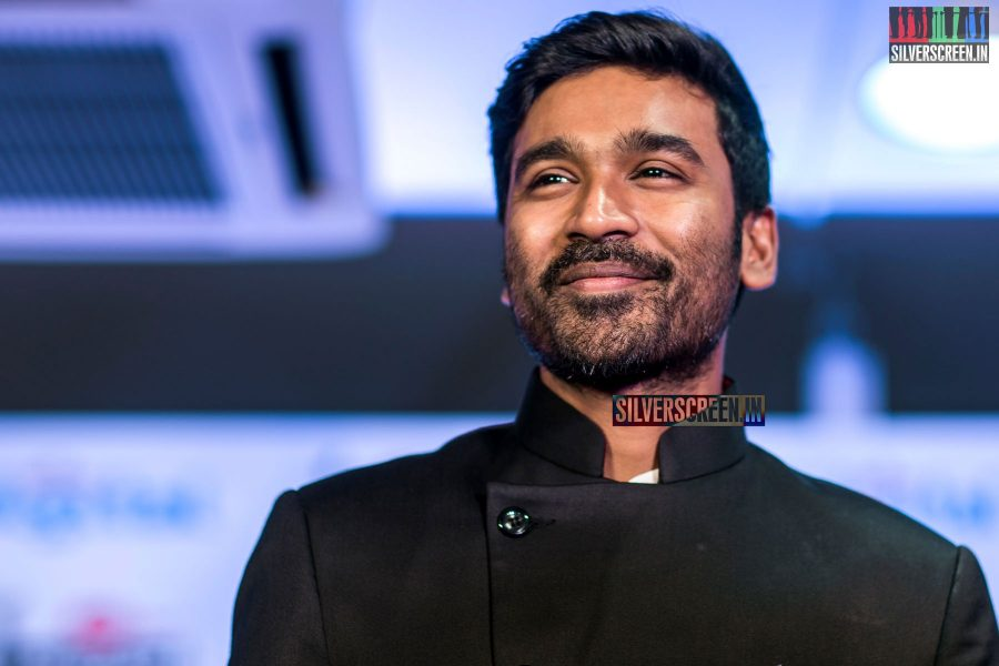 Dhanush at the Filmfare Awards South 2017 Press Meet