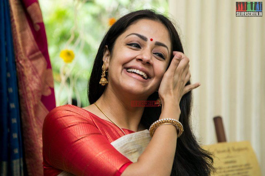 Jyothika at the launch of Vintage Weaves of Kanjivaram on National Handloom Day