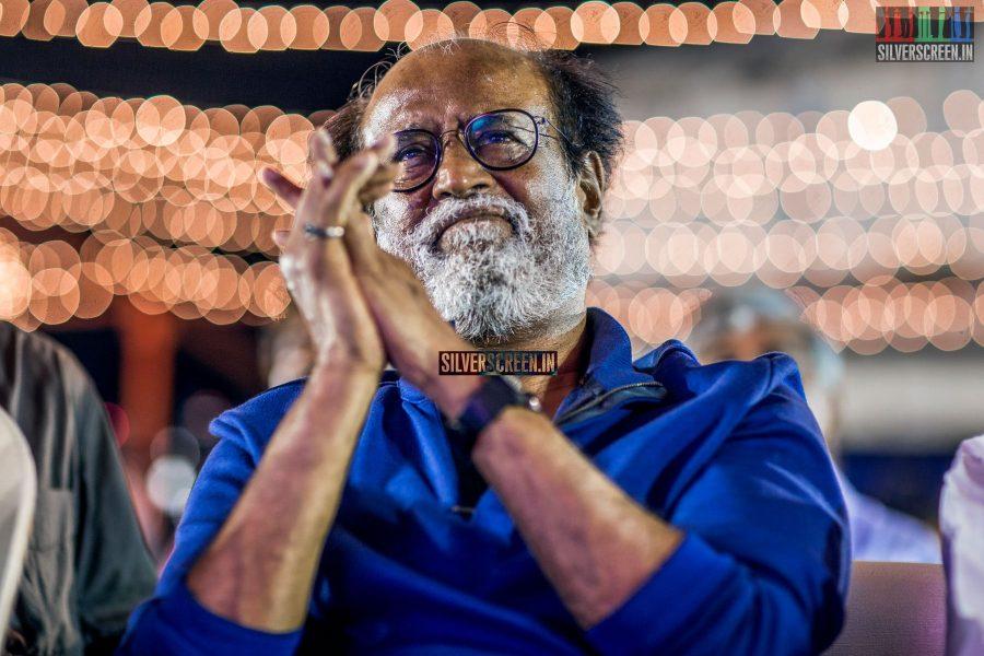 Rajinikanth at the Inauguration of Bharathi Raaja International Institute of Cinema-'Briic'