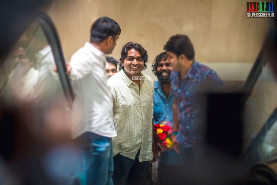 Vijay Sethupathi at the 100 days of Vikram Vedha celebrations.