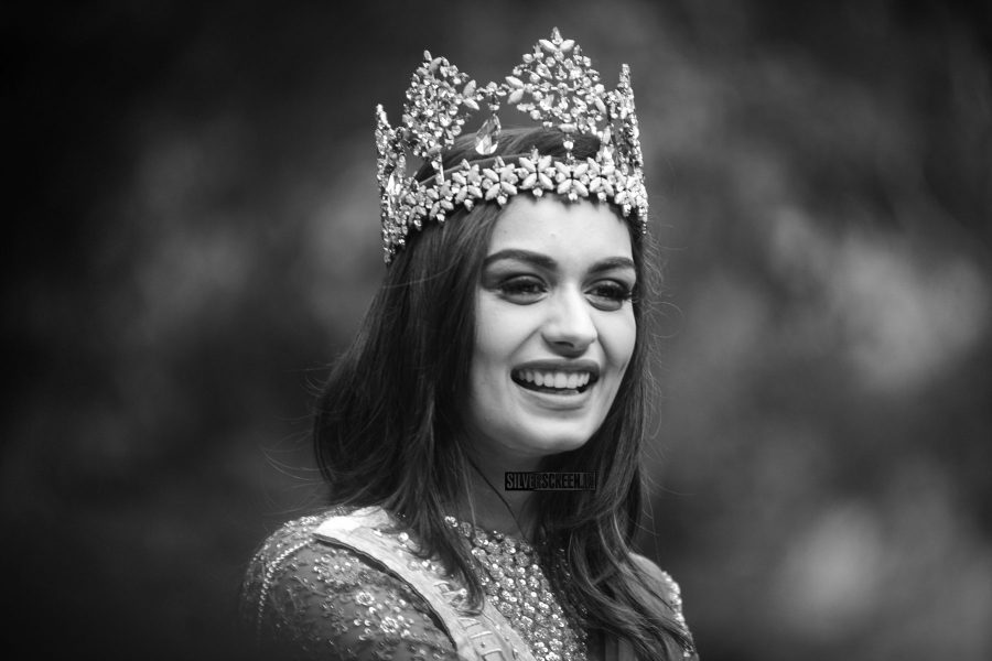 Grand Homecoming Parade For Newly-Crowned Miss World Manushi Chhillar