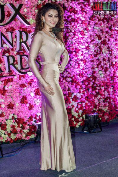 Urvashi Rautela at the Lux Golden Rose Awards 2017