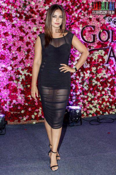 Neetu Chandra at the Lux Golden Rose Awards 2017