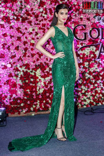 Diana Penty in a Zara Umrigar gown at the Lux Golden Rose Awards 2017