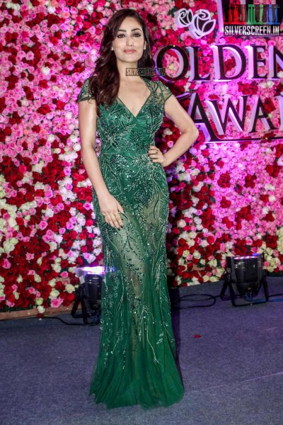 Yami Gautam in a Kommal Sood gown at the Lux Golden Rose Awards 2017