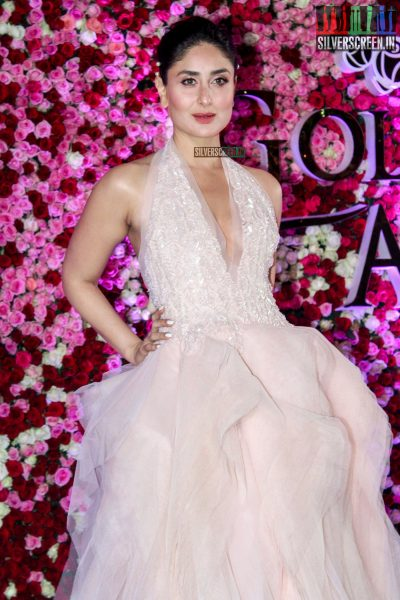 Kareena Kapoor in a Rami Ali halter gown at the Lux Golden Rose Awards 2017