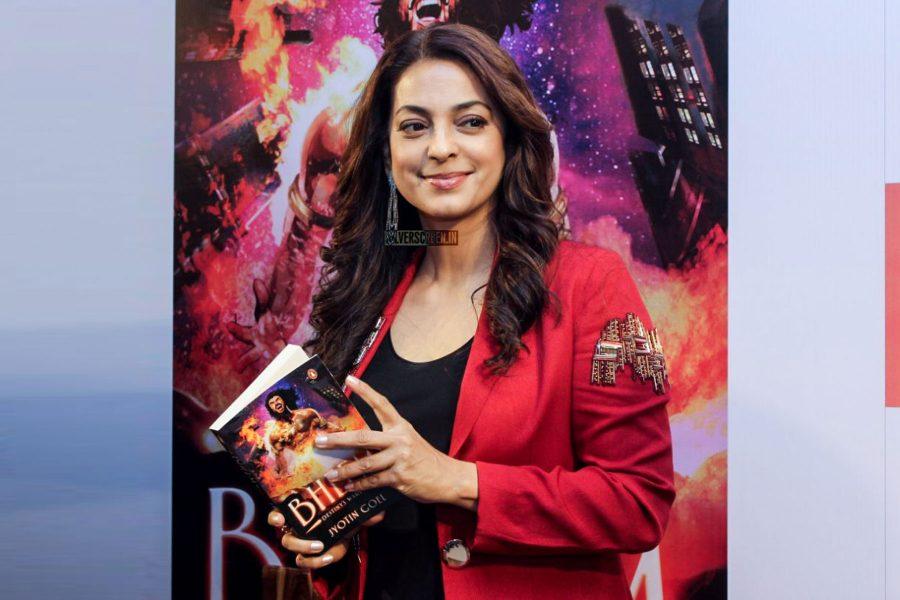 Juhi Chawla At A Book Launch In Mumbai