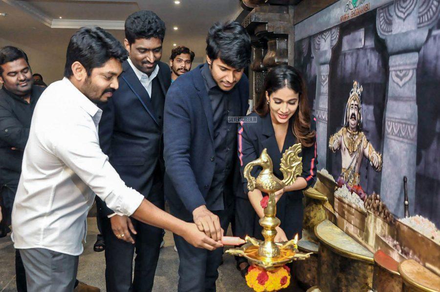 Lavanya Tripathi And Sundeep Kishan At The Vivaha Bhojanambu Restaurant Launch