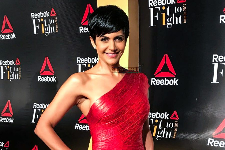 Mandira Bedi at the Reebok Fit To Fight Awards.