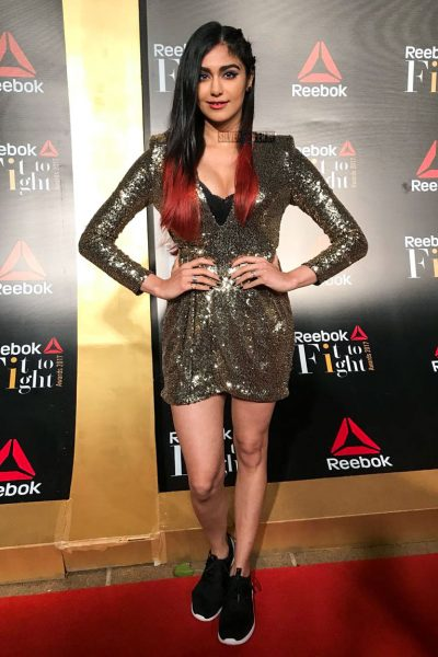 Adah Sharma at the Reebok Fit To Fight Awards.