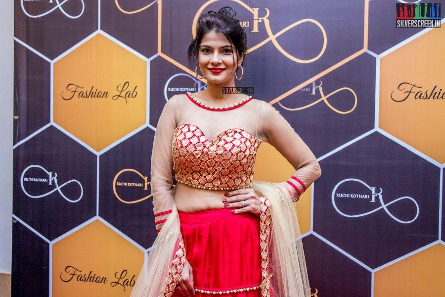 Manisha Shree At The Launch Of Designer Ruchi Kothari's New Collection