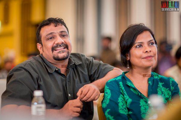 Pushkar-Gayathri At The Brew Person Of The Year Awards 2017