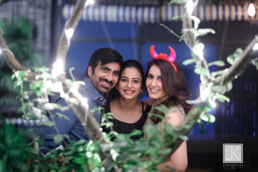 Raashi Khanna Birthday Celebrations With Atharavaa, Rana Daggubati, Sundeep Kishan and Others