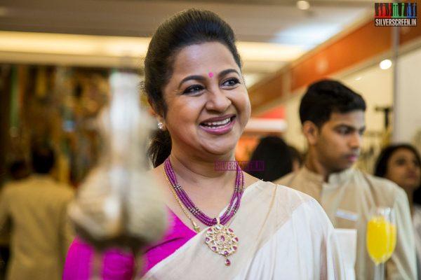 Radhika Sarathkumar At The Inauguration Of The Vimonisha Mega Style Souk 2017
