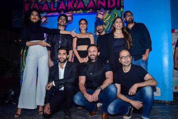 Saif Ali Khan At The Trailer Launch Of Kaalakaandi